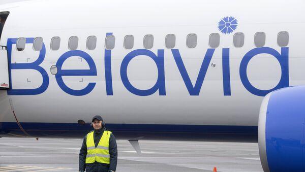 Самолет белорусской авиакомпании Белавиа - Sputnik Армения