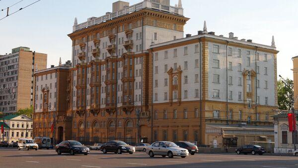 Здание американского посольства в Москве - Sputnik Армения