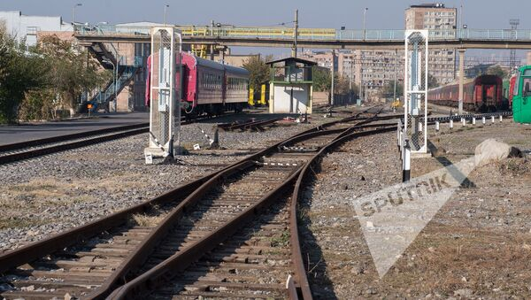 ЗАО Южно-кавказская железная дорога сдала в эксплуатацию электропоезд - Sputnik Արմենիա
