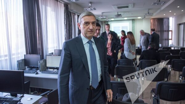 Министр транспорта, связи и информационных технологий Армении Ваан Мартиросян - Sputnik Армения