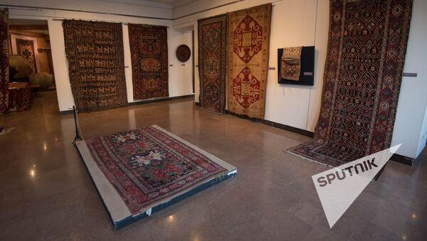Республиканский симпозиум на тему Армянский узел: культура армянское ковроделия - Sputnik Արմենիա