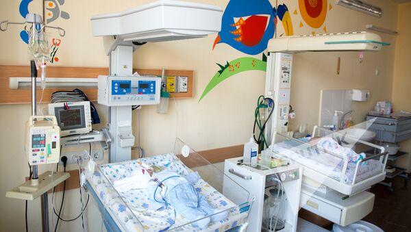 Детское отделение медецинского центра Сурб Аствацамайр - Sputnik Армения