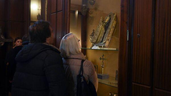 Иерей Асохик рассказывает о том, как святое копье попало в Первопрестольный Эчмиадзин - Sputnik Армения