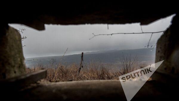 Вид на Азербайджан с армянских позиций  - Sputnik Армения