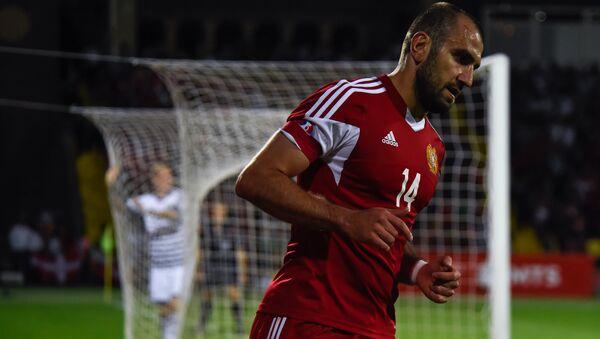 Домашний матч сборных Армении и Дании в рамках отборочного цикла ЕВРО-2016  - Sputnik Армения