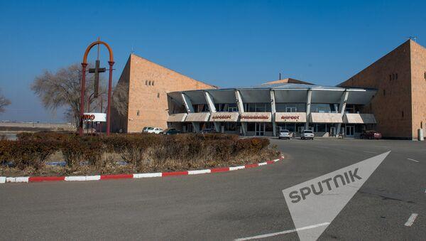 Аэропорт в Гюмри  - Sputnik Արմենիա
