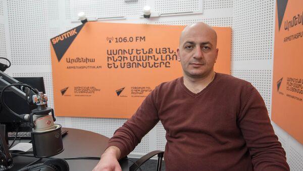 Ваграм Миракян в гостях у радио Sputnik Армения - Sputnik Արմենիա