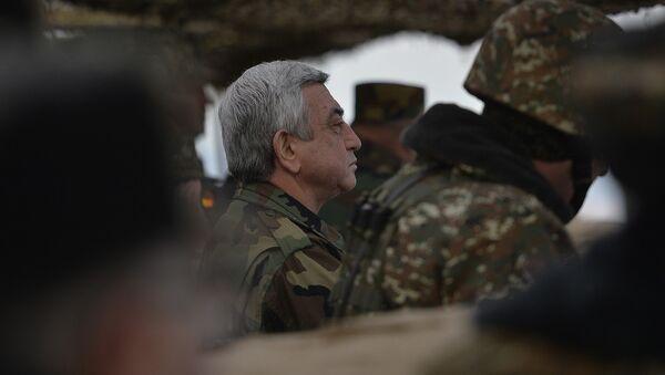 Серж Саргсян - Sputnik Армения