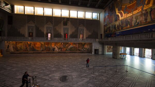 Городская ратуша в Осло - Sputnik Армения