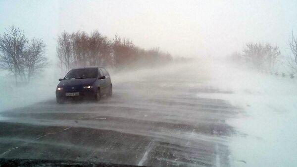 Заснеженные дороги. Армения  - Sputnik Армения