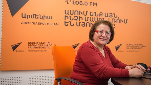 Гаяне Саакян в гостях у радио Sputnik Армения - Sputnik Армения
