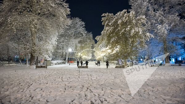 Заснеженный Ереван - Sputnik Армения