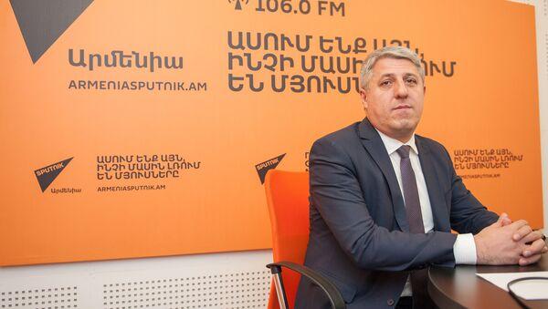 Вардан Восканян в гостях у радио Sputnik Армения - Sputnik Արմենիա