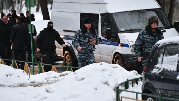 Ситуация на Ельнинской улице в Москве - Sputnik Армения