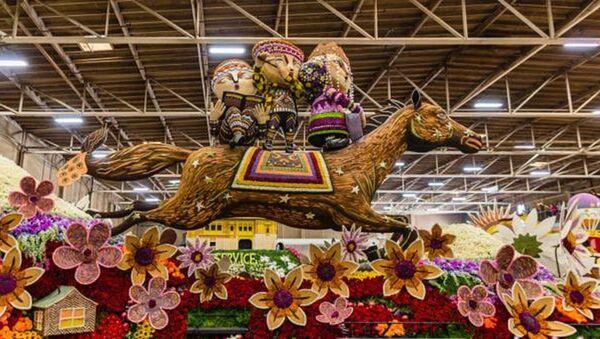 В калифорнийском городе Пасадина в 128-й раз прошел ежегодный Парад роз - Sputnik Армения