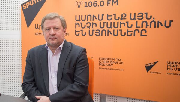 Владимир Лепехин в гостях у радио Sputnik Армения - Sputnik Армения