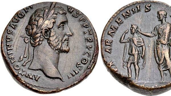 Упоминание об Армении на древнеримских монетах - Sputnik Армения