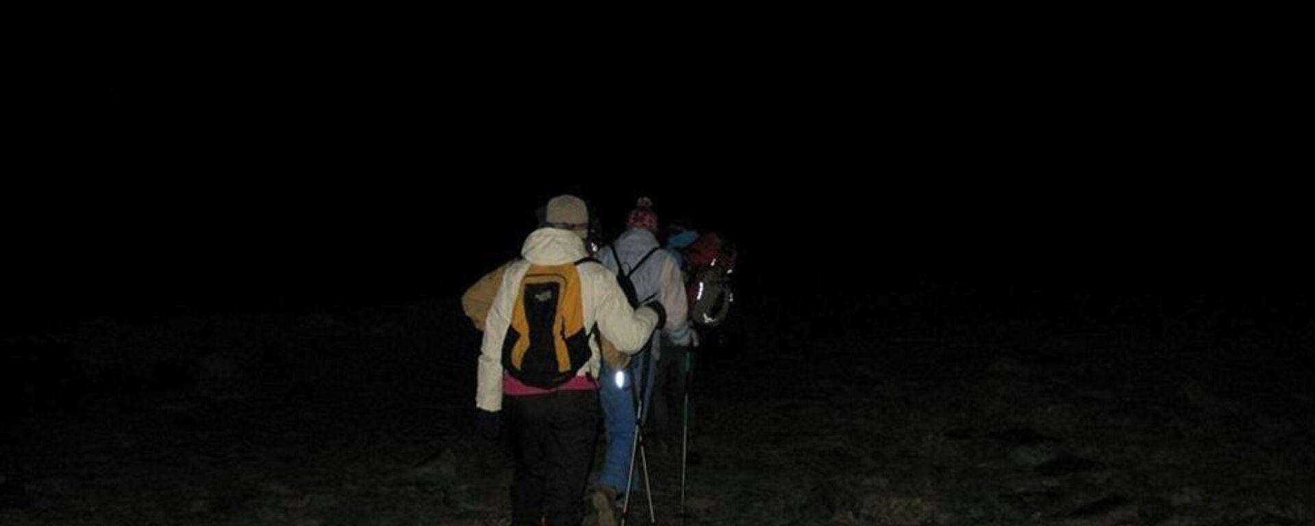 Восхождение альпинистов на гору Арагац  - Sputnik Արմենիա, 1920, 13.07.2021