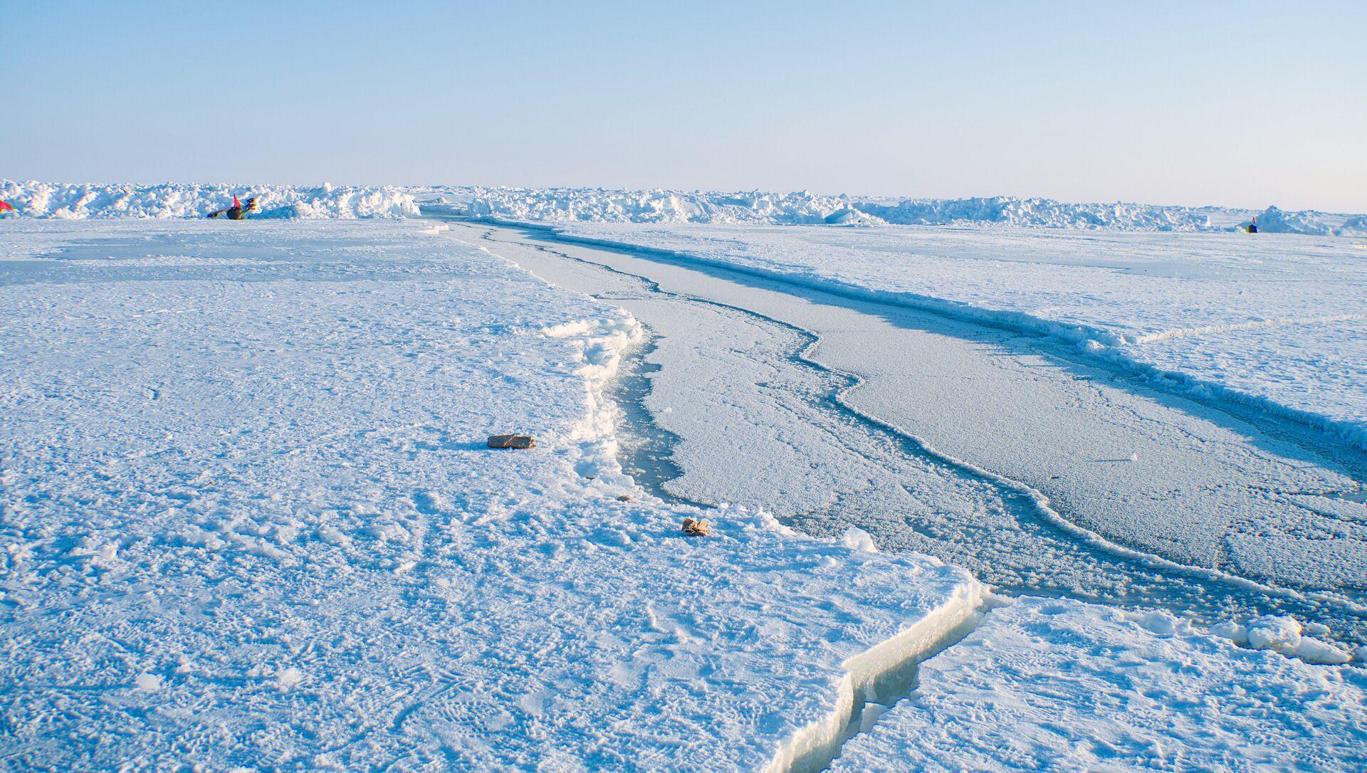 Дрейфующий ледовый лагерь Барнео в Арктике - Sputnik Армения, 1920, 18.06.2021