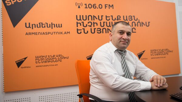 Мнацакан Бичахчян в гостях у радио Sputnik Армения - Sputnik Արմենիա