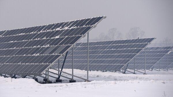 Открытие новой солнечной электростанции - Sputnik Армения