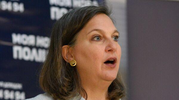 Бывший помощник госсекретаря США Виктория Нуланд в Киеве - Sputnik Армения