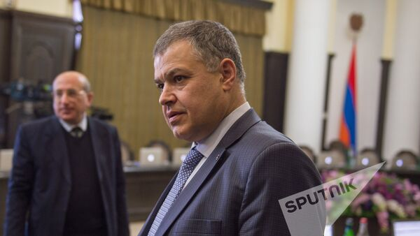 Давид Арутюнян. Заседание Правительства РА 02.02.2017 - Sputnik Армения