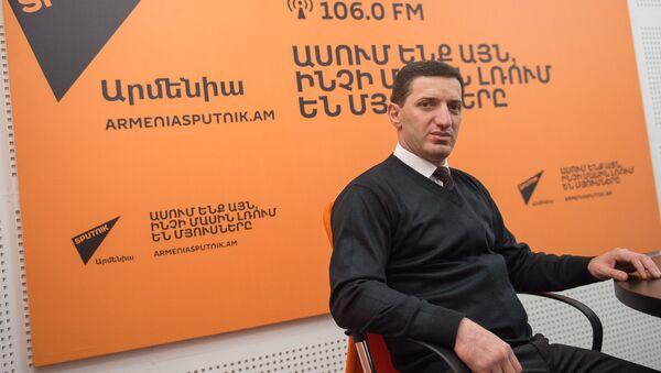 Геворг Петросян в гостях у радио Sputnik Армения  - Sputnik Արմենիա