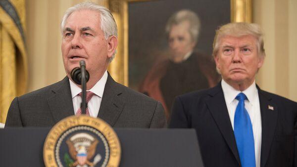 Присяга нового госсекретаря США Рекса Тиллерсона - Sputnik Армения