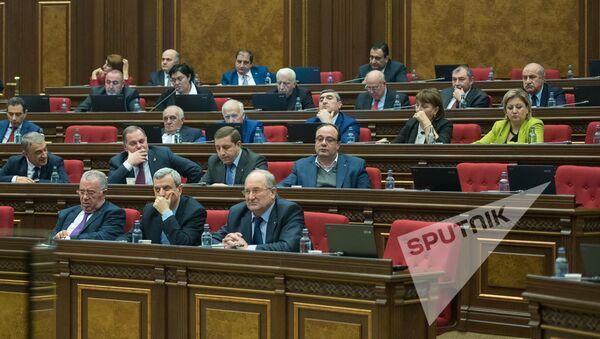 Заседание Национального собрания РА, 08.02.2017 - Sputnik Армения