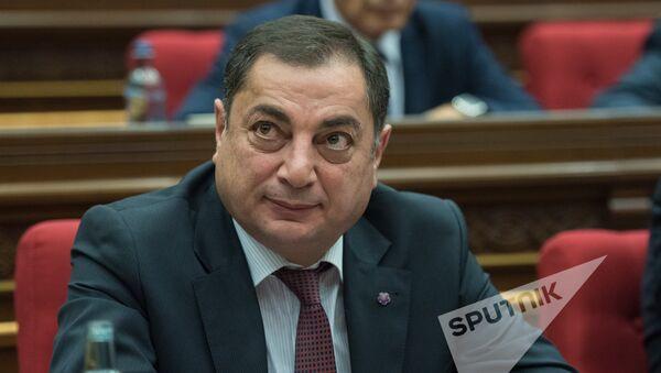 Ваграм Багдасарян. Заседание Национального собрания РА, 08.02.2017 - Sputnik Армения