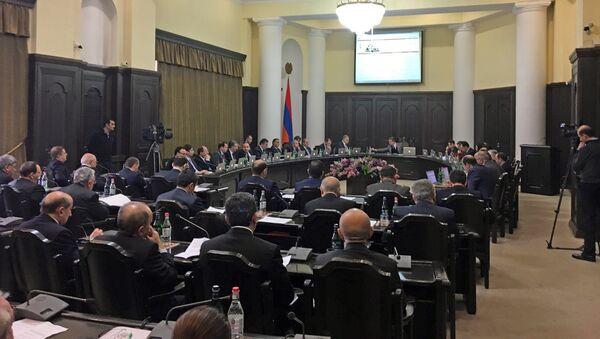 Заседание Правительства РА 09.02.2017 - Sputnik Армения