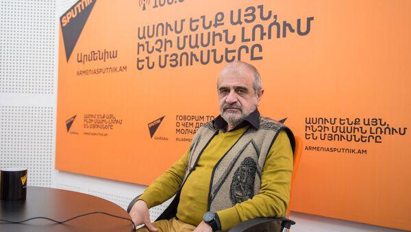 Рубен Бабаян в гостях у радио Sputnik Армения - Sputnik Армения