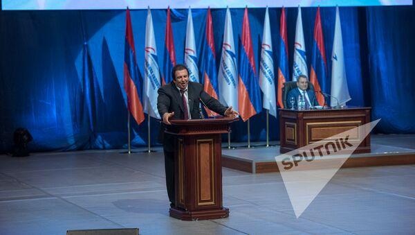 Девятый съезд партии Процветающая Армения. Гагик Царукян - Sputnik Армения