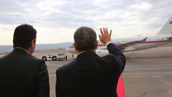 Премьер-министр Армении Карен Карапетян завершил визит в Грузию - Sputnik Армения