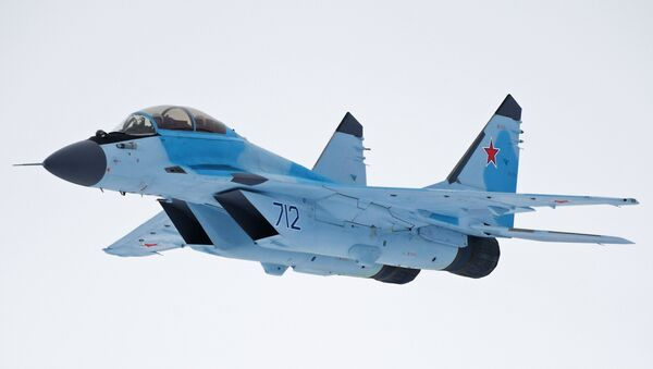 Презентация авиационного комплекса МиГ-35 в Московской области - Sputnik Армения