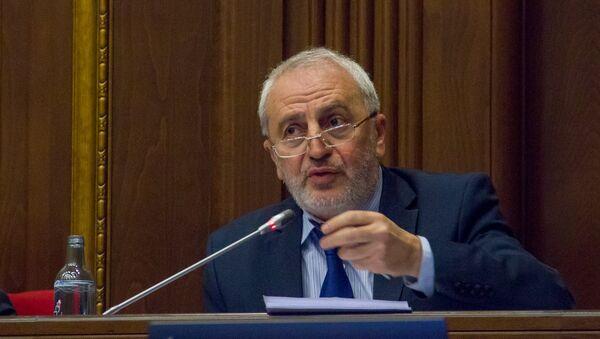 Арам Манукян. Заседание Парламента РА, 27.02.2017 - Sputnik Արմենիա
