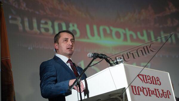 Съезд Айоц Арцивнер. Хачик Асрян - Sputnik Արմենիա