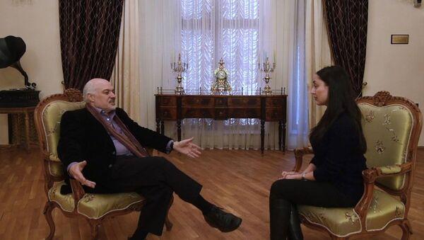 Константин Орбелян рассказывает о семейной истории и новом театральном сезоне - Sputnik Армения