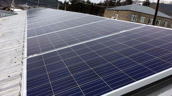 Солнечные батареи в Армянских селах  - Sputnik Армения