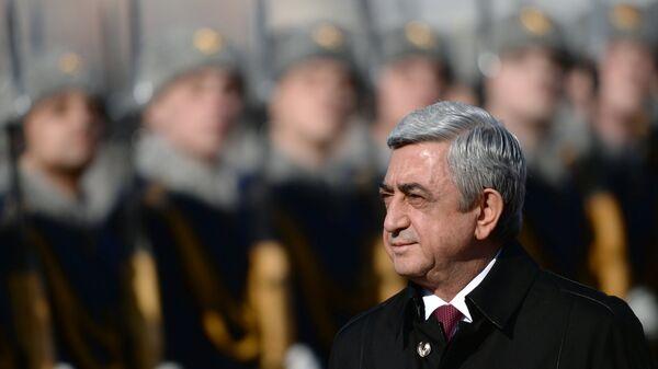 Прилет президента Республики Армения С. Саргсяна - Sputnik Արմենիա