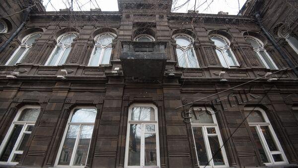 Улица Абовяна 3, здание АОКС-а. Старый Ереван  - Sputnik Արմենիա