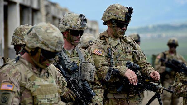 Американские военные на учениях Достойный партнер в Грузии - Sputnik Армения