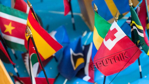 Флаги стран ООН - Sputnik Արմենիա