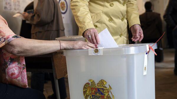 Выборы в НС РА. Голосование - Sputnik Армения