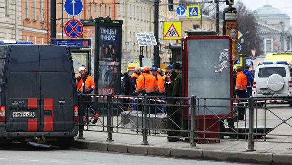 Взрыв в метро в Санкт-Петербурге - Sputnik Армения