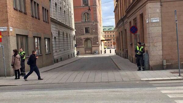 Выстрелы на одной из центральной улиц Стокгольма, Швеция  - Sputnik Армения