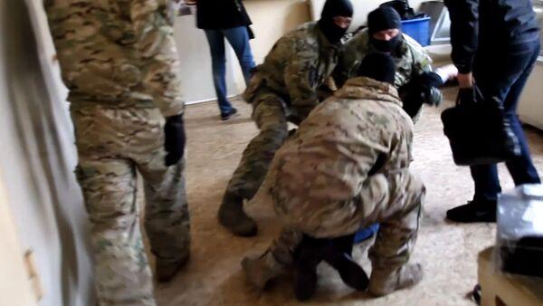 Спецоперация ФСБ и МВД РФ по задержанию контрабанды - Sputnik Армения