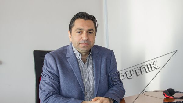 Руководитель отдела управления компании Spayka Карен Багдасарян - Sputnik Армения