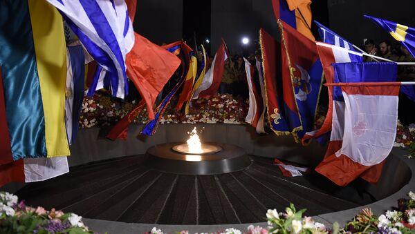 Факельное шествие в Ереване. 2017г. - Sputnik Армения